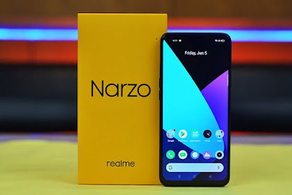 Realme narzo 20 Pro Smartphone Gaming Harga Rp3 Jutaan