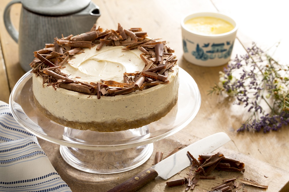 Earl Grey And Clotted Cream Cheesecake