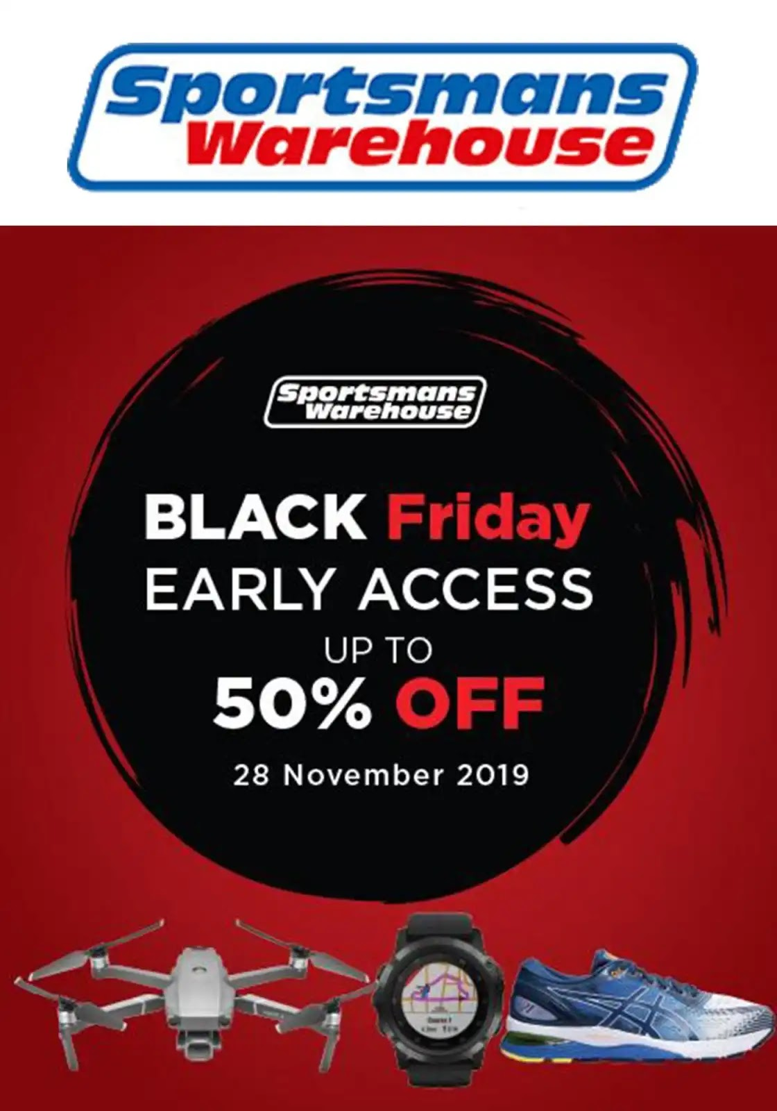 Sportsmans Warehouse Black Friday deals up to 50% OFF