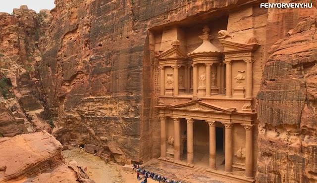 Petra - Naptár is volt az ősi romváros