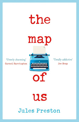 The Map of Us by Jules Preston book cover