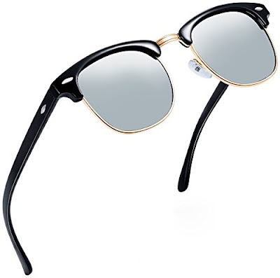 Joopin Sunshades - Semi Rimless Unisex Sun Glasses