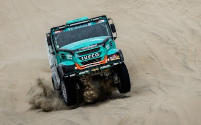 IVECO mantém posição de destaque no Rally Dakar 2019
