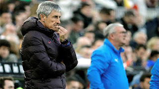 Setien admits fault in Barcelona's loss to Valencia as tricky start continues