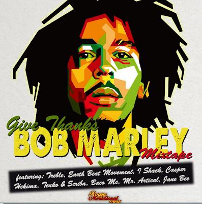 bob marley anniversario