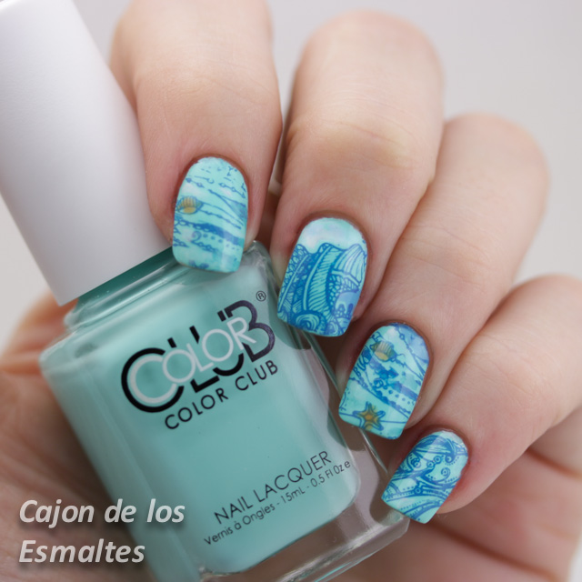 Color Club Blue Ming - Moyou London Sailor Collection 04