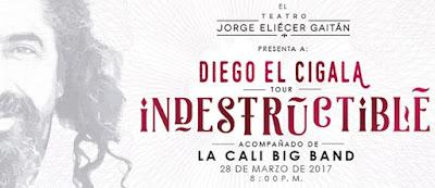 "EL CIGALA ""INDESTRUCTIBLE"" CON LA BIG BAND DE CALI EN BOGOTÁ"
