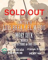Concierto de Luis Brea en Moby Dick Club