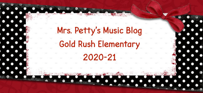 Mrs. Petty's 2020-21 GRE Music Blog