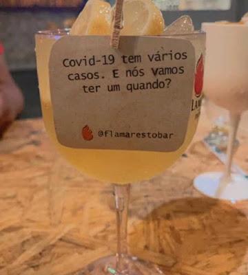 Bar do Piauí faz piada com Covid-19 e vira alto de críticas na internet