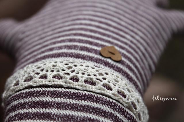 filigarn.blogspot.com - genähtes - Schneehase! Meine ersten Fingerhandschuhe!!