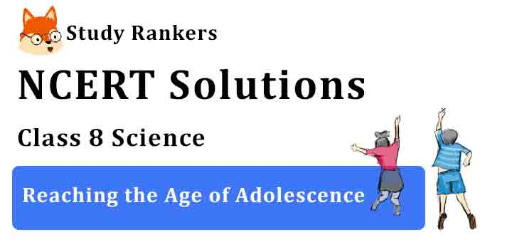 NCERT Solutions for Class 8 Science Chapter 10 Reaching the Age of Adolescence