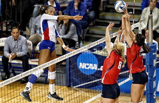 KU middle blocker Tayler Soucie, KU volleyball, Kansas University volleyball team, Kansas Jayhawks