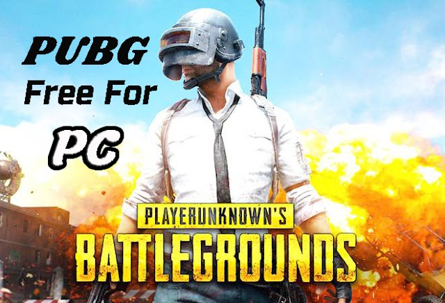 PUBG Game Free For PC - Pubg Free Download For PC Window 7 8 and 10 Full Version