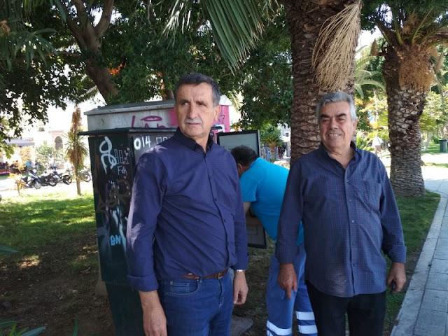 Άμεση η αποκατάσταση βλάβης στον ηλεκτροφωτισμό περιοχής του Ναυπλίου