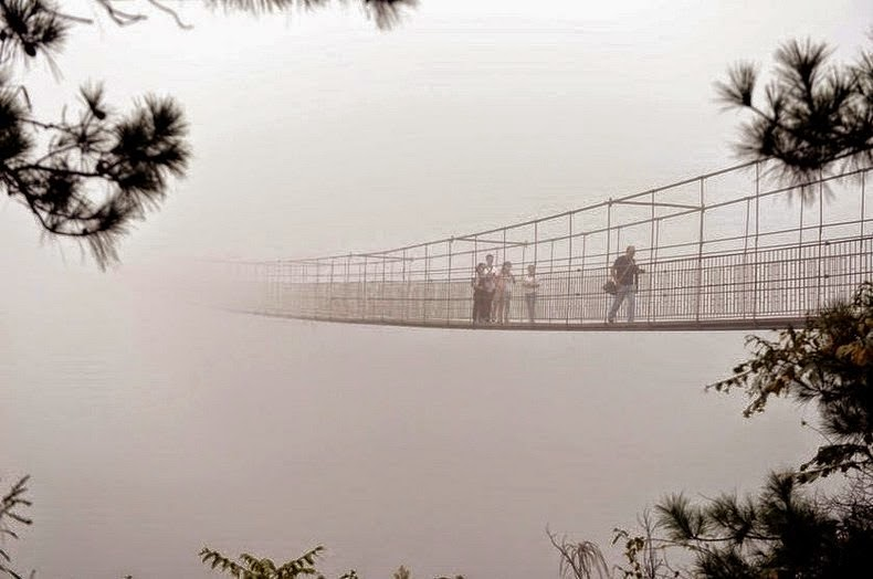 A Vertigo-Inducing Bridge Opened in China. Would You Walk Across?