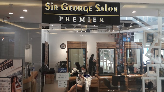 My First Salon Experience in 3 Years! ft. Sir George Salon Premier | Hair 2021
