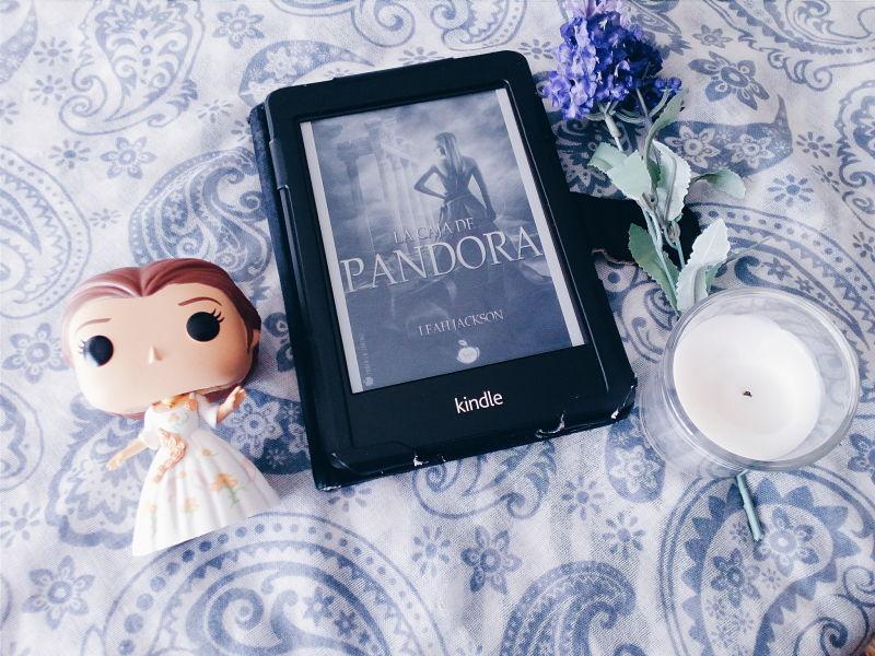 Foto del libro La caja de Pandora de la autora Leah Jackson