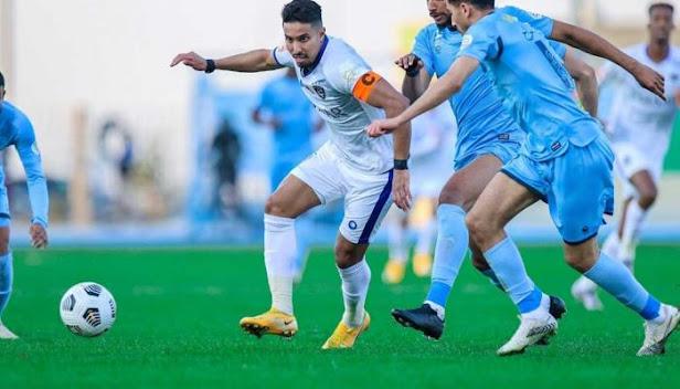 كول كورة تقرير مباراة  الشباب و الحزم الدوري السعودي cool kora