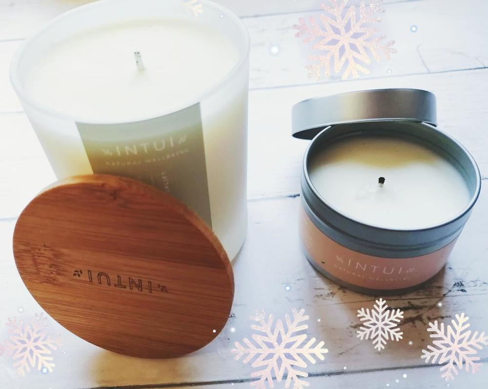 Energise and Uplift Natural Candle & Relax and Nourish Natural Travel Candle review