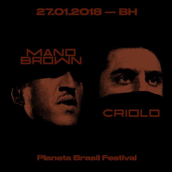 Show de Mano Brown e Criolo promete ser uma das apresentações mais interessantes do Festival Planeta Brasil