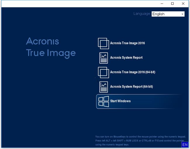 Acronis True Image 2017 20.0 Build 5554 + Crack