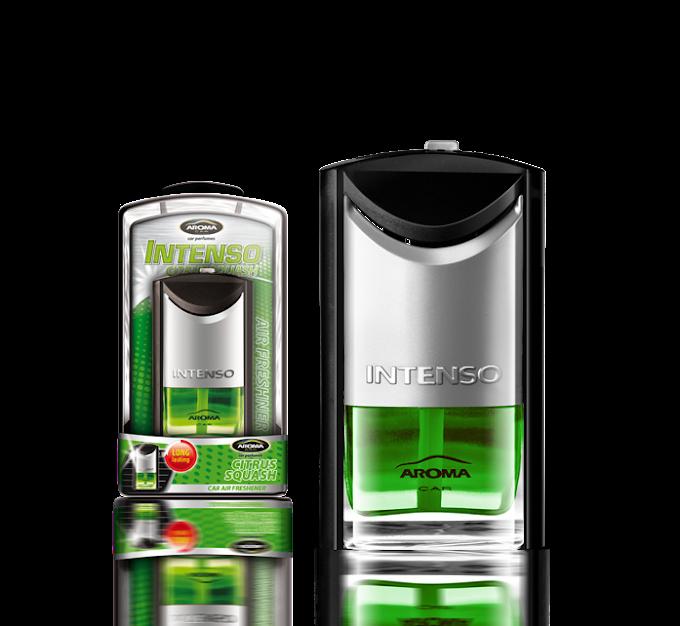Nước hoa Kẹp cửa gió điều hòa Aroma Car Intenso Air Vent 7ml - Citrus Squash