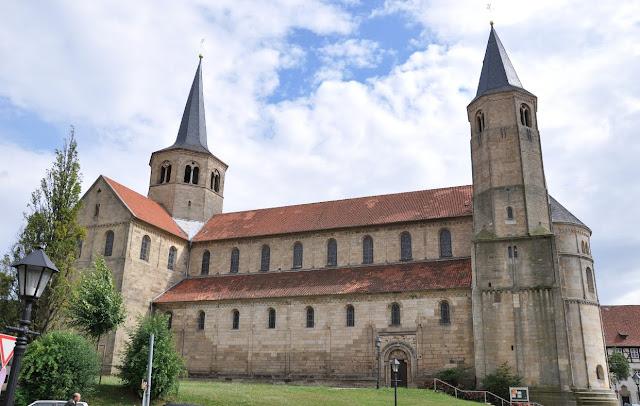 Romański kościół Św. Godeharda w Hildesheim