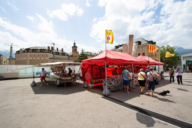 Intorno al Market hall-Innsbruck
