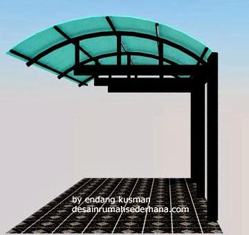 Model Kanopi Garasi Mobil Minimalis Terbaru 2014