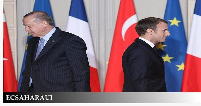 """Turquía desaloja de África a Francia y su """"caballo de Troya"""", Marruecos."""