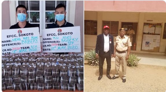 photo of Nigerian EFCC official who rejected N100m Chinese bribe