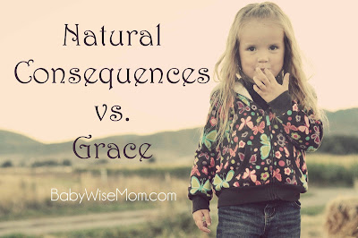 Natural Consequences vs. Grace