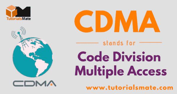 CDMA Full Form