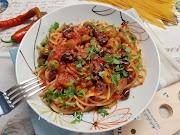 Спагети Путанеска * Spaghetti alla puttanesca