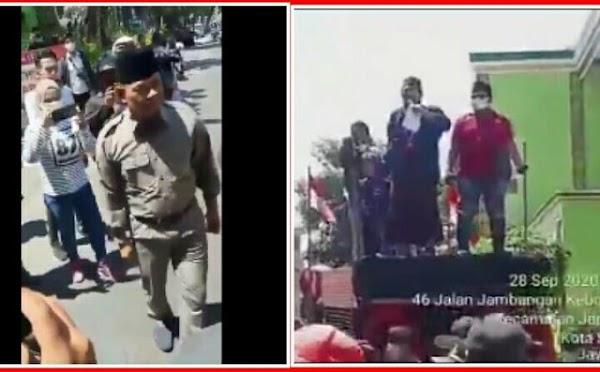 Video Detik-detik Pidato Jenderal Gatot di Surabaya Dibubarkan Polisi, Ada Yang Teriak Gatot Nurmantyo Anjing!
