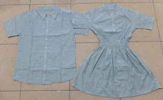Jual Online Dress Shanghai Hijau Murah Jakarta Bahan Cotton Terbaru