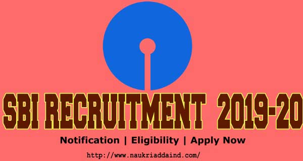 SBI Clerk 2019 Notification pdf
