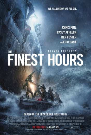 The Finest Hours 2016 Dual Audio Hindi 480p Bluray 350MB ESubs