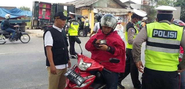 Razia Samsat Balaraja Jaring Ratusan Kendaraan