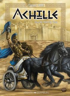 Achille  tome 2 - Sous les murs de Troie aux éditions Graph Zeppelin