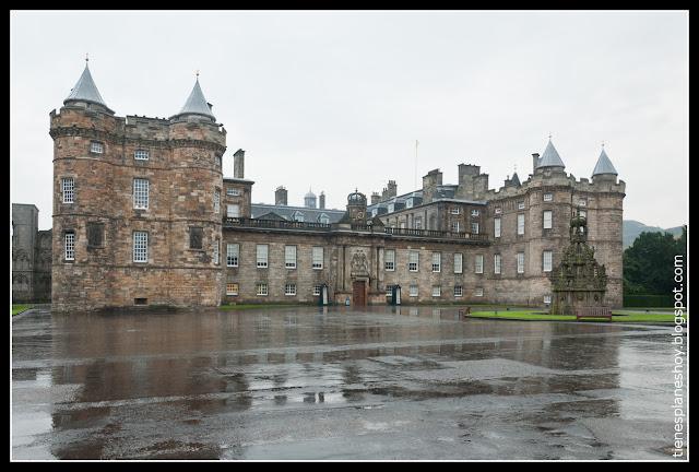 Palacio de Holyrood Edimburgo (Escocia)