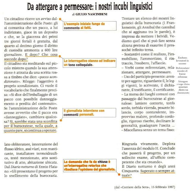 4 Articolo di commento Giornalismo Silvana Calabrese