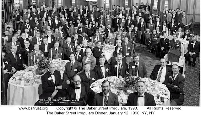 The 1990 BSI Dinner group photo