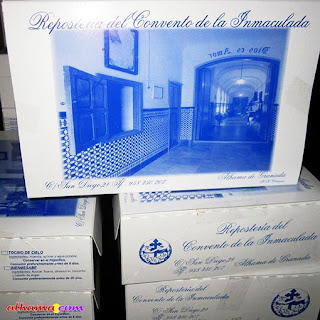 On Your Bike Trip Buy Convent Cookies in Alhama