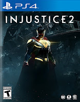 Injustice 2 Game Cover PS4 Standard