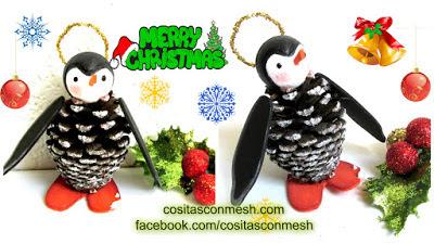 adornos-navideños-piñas