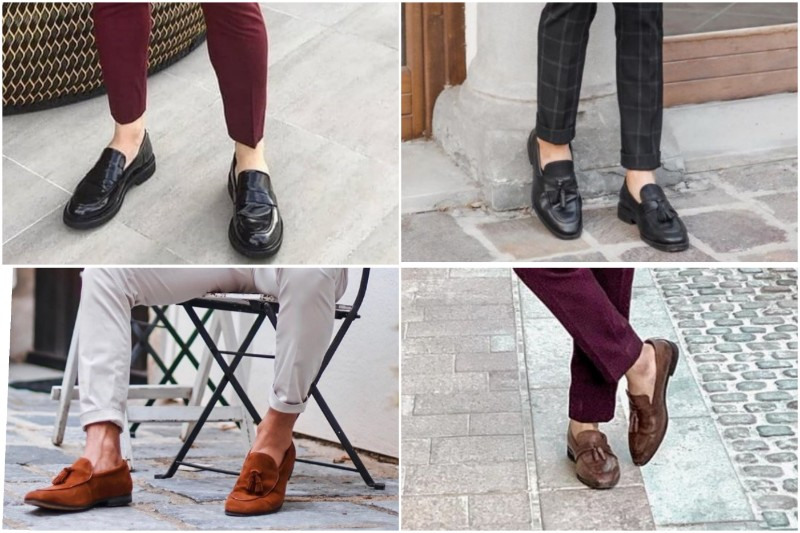 Loafers shoes, men's.