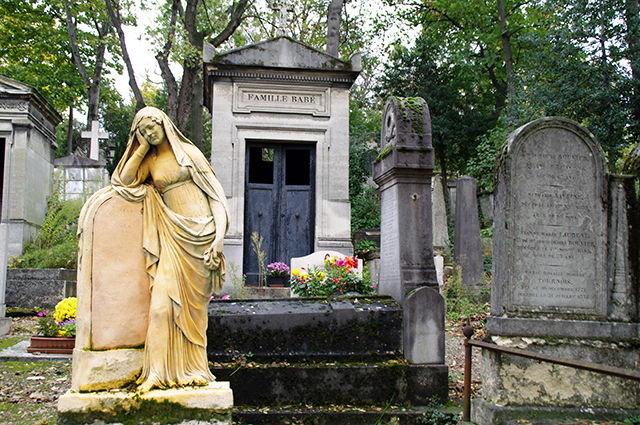 Pere lachaise tombe