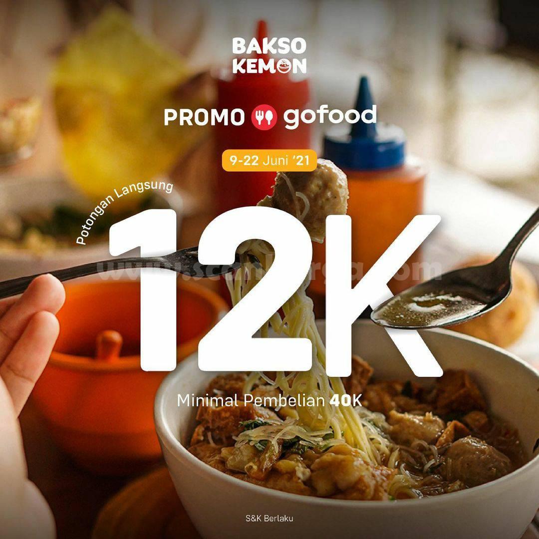 Promo Bakso Kemon Terbaru Periode 9 - 22 Juni 2021